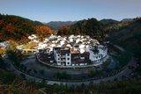 中国最圆的村庄-菊径